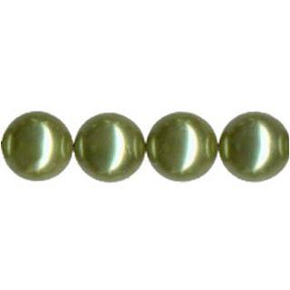 SHELL PEARL PL240 16MM LIGHT GREEN