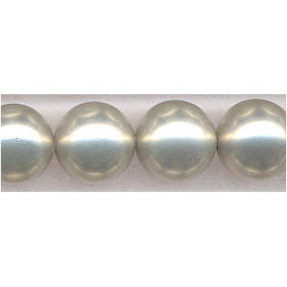SHELL PEARL #614 16MM ROUND