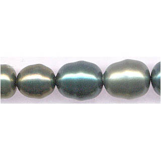 SHELL PEARL DESIGN BEADS12-16M DK.MUL