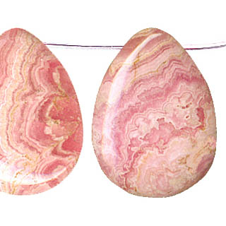 RHODOCHROSITE F.PEAR 40X30MM