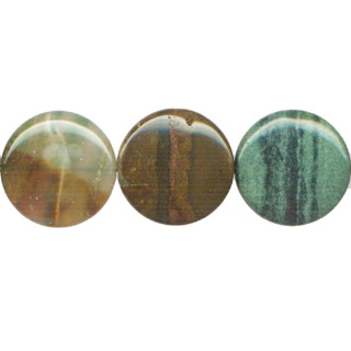 OCEAN AGATE DISC 30MM