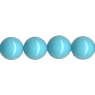 SHELL PEARL PL245 16MM TURQUOISE