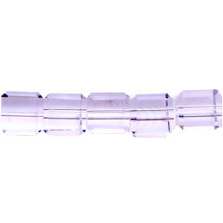 GLASS FACETED SQUARE 08MM LAVENDER(10 Strs)