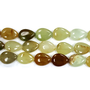 RAINBOW NEW JADE PEAR 13X18MM