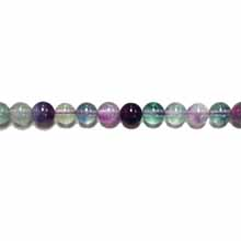 RAINBOW FLOURITE(A) 08MM