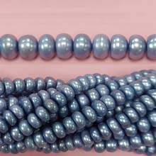 ROUNDEL GRAYISH BLUE 7-8 MM