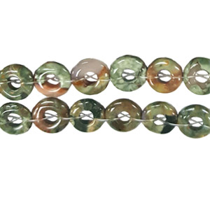 RHYOLITE LOOSE DONUT 12MM