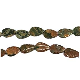 RHYOLITE LEAF 08X12MM