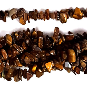 TIGER EYE CHIPS ( 5 STRS)