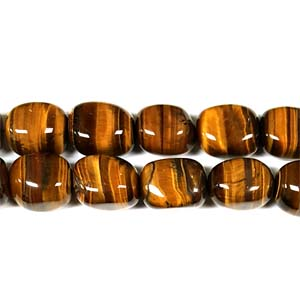 TIGER EYE NUGGET 15X20MM