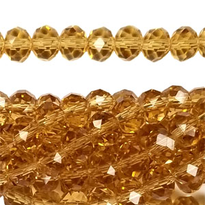 12MM FACETED RONDELLE TOPAZ