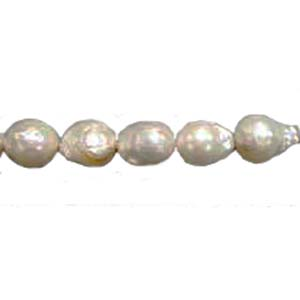 Freshwater Pearl BAROUQE 14MM WHITE
